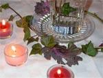 Décor de table naturel pour les fêtes