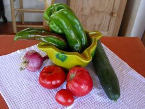 Gazpacho (ou gaspacho) : soupe froide à la tomate