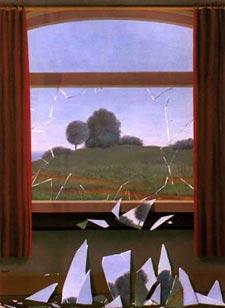 Magritte - La clé des champs (1936)
