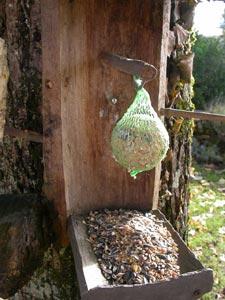 Boule de graisse pour les oiseaux