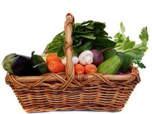 Panier bio - Fruits, légumes et produits frais locaux