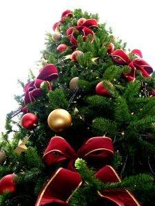 Sapin de Noel décoré