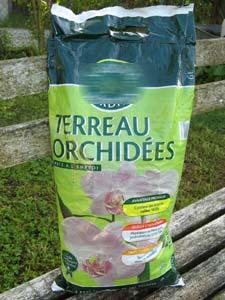 Sac de terreau spécial orchidée