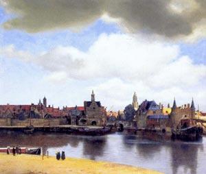 Vermeer - Vue de Delft