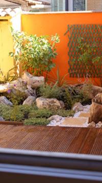 am nager un petit jardin de ville p 3. Black Bedroom Furniture Sets. Home Design Ideas
