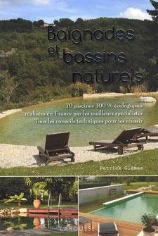 Baignades et bassins naturels - Livre de Patrick Glémas