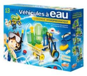 Véhicules à Eau, un jeu de construction de Buki