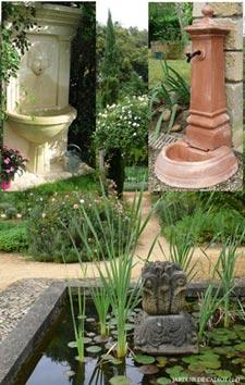 Eléments décoratifs au jardin