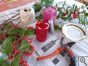 matériel décorations de Noël