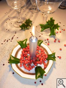 Décorations de Noël naturelles (suite)