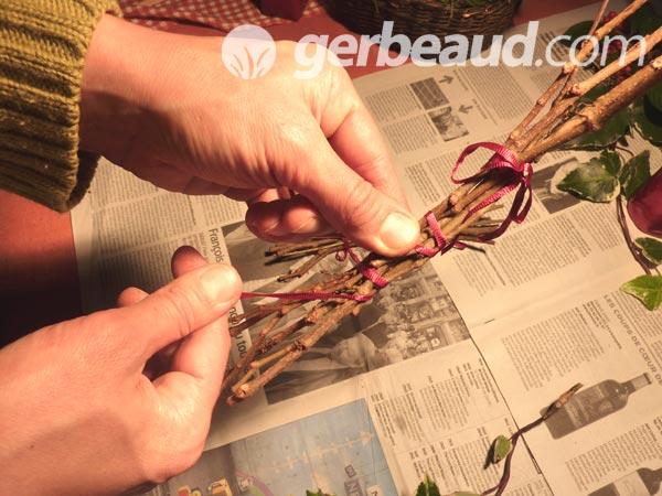 Décorations de No u00ebl naturelles (suite) # Grand Fagot De Bois Decoration