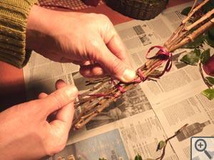petit fagot de branches