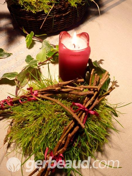Decoration Mousse Des Bois