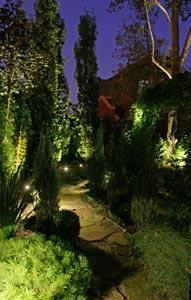 Eclairage du jardin : règles de base