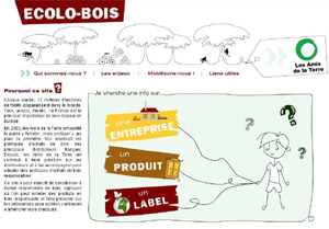Ecolo-bois.org : le bois et les labels