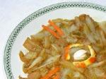 Endives caramélisées au jus d'orange