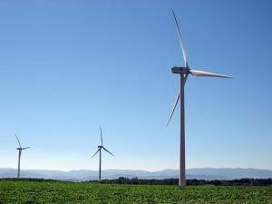 Des éoliennes dans la Drôme