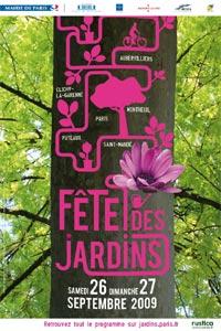 Nouveau parcours pour la Fête des jardins de Paris