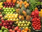 Marché du mois des fruits de saison