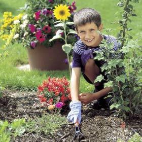 Gants de jardinage pour les enfants