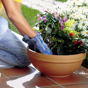 Gants de jardinage polyvalents en tissu