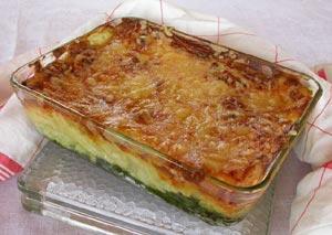 Gratin de macaronis à la tétragone