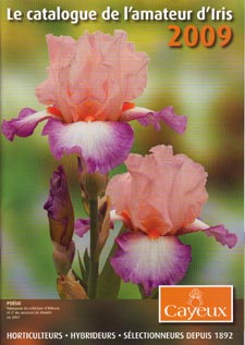 Catalogue iris Cayeux 2009