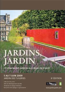 La sixième édition de Jardins Jardin débute aux Tuileries le 5 juin