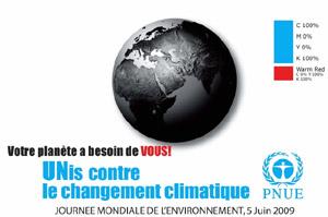 journée mondiale de l'environnement - 5 juin 2009