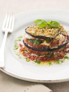 Moussaka - cuisine d'aubergines