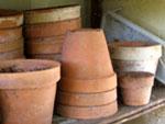 L'entretien des pots en terre cuite