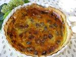 Tarte aux raisins et aux 2 fromages