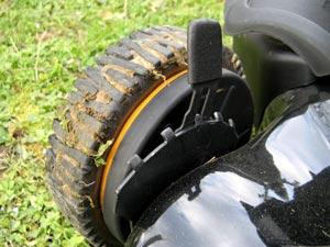 Réglage de la hauteur des roues