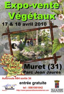 Muret - Muret Parc Jean Jaures - Avril 2010