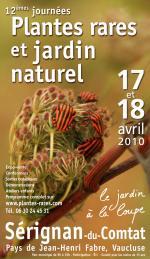 Plantes rares et jardin naturel - Sérignan-du-Comtat - Avril 2010
