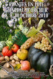 PLANTES EN FETE - Gonfreville l orcher Chateau d Orcher - Octobre 2010