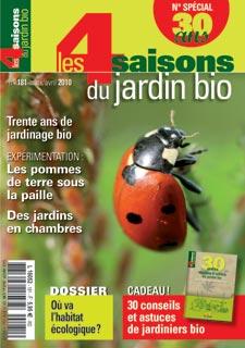 Le magazine Les Quatre Saisons du Jardinage fête ses 30 ans