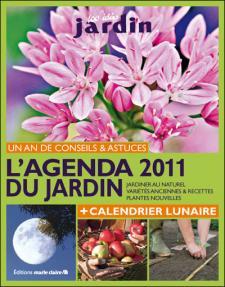 L'agenda 2011 du jardin