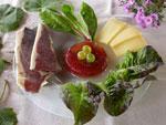Aspic aux figues et aux raisins