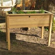 Comment ne pas avoir mal au dos quand on jardine for Bac carre potager bois