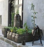 Bacsac : des sacs en toile géotextile à utiliser comme des pots