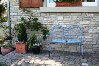 Banc de jardin en fer