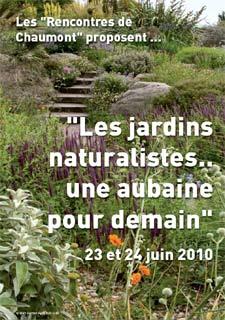 Colloque Chaumont sur les jardins naturalistes