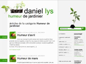 Les conseils jardin de daniel lys for Conseil de jardinier