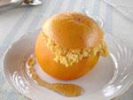 Dessert au pamplemousse