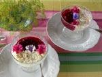 Duo compote de prune / riz au lait