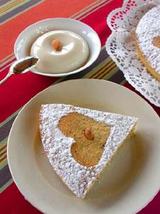 Gâteau  aux amandes - présentation
