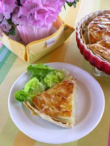Gâteau de pomme de terre - présentation