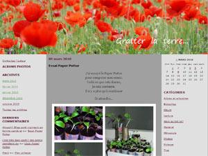 Gratter la terre - D.R. - http://gratterlaterre.canalblog.com/
