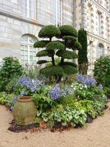 Les jardins agapanthe à saint Jean de Beauregard
